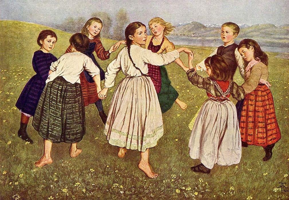 картинки русские народные игры в старину меня была девушка