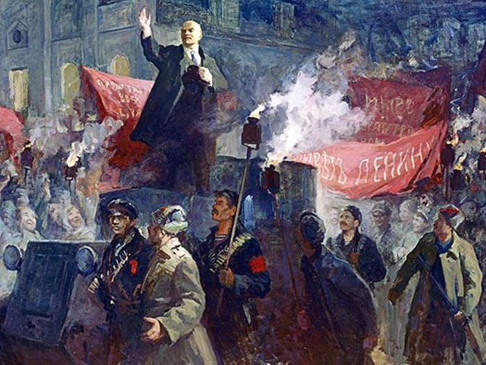 Исторический экскурс «Октябрь 1917 года»