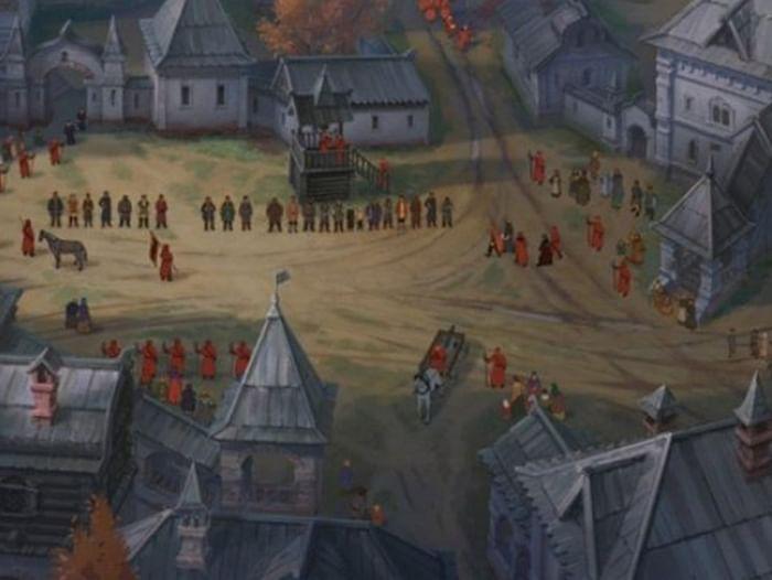 Показ мультфильма «Крепость: щитом и мечом»