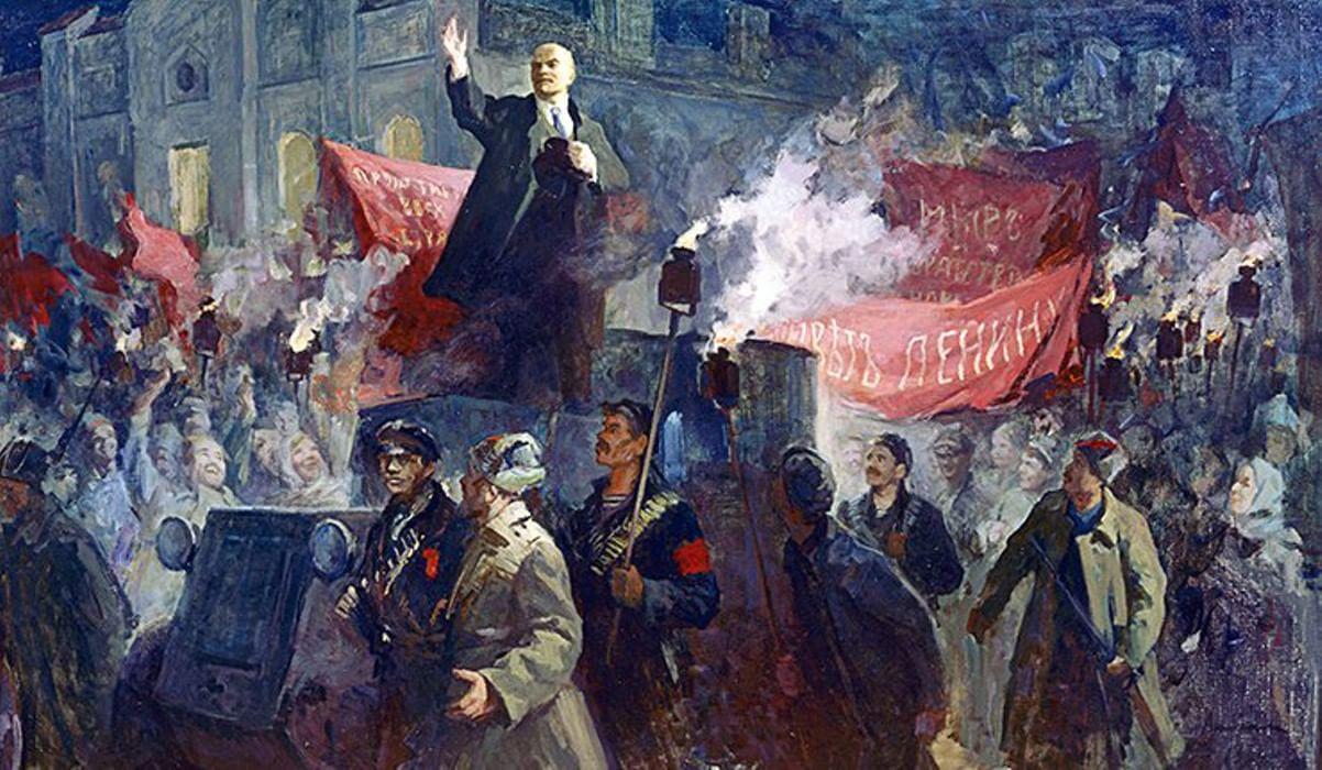 Открытку, картинки октябрьская революция 1917 года