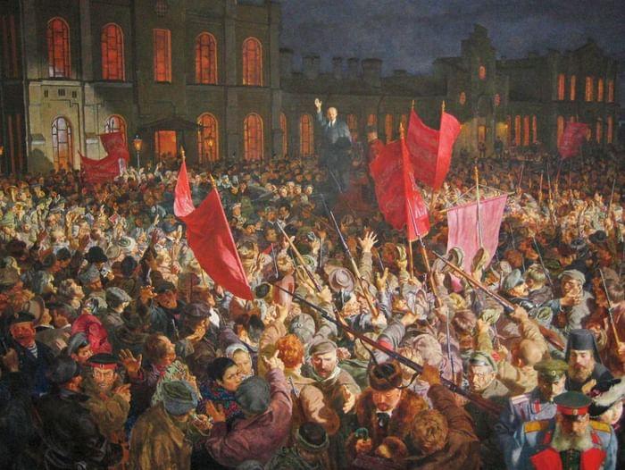 Литературно-исторический час «Октябрь 17-го на страницах книги»