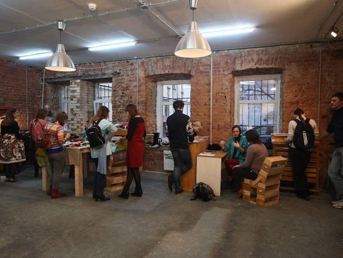 Вечеринка «Плавучий рынок в Открытых мастерских»