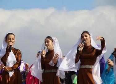 Фестиваль патриотической песни в Кумторкалинском районе