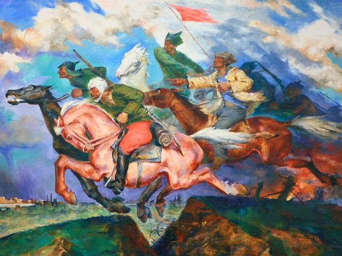 Лекция «Кавалерия в Гражданской войне в России»