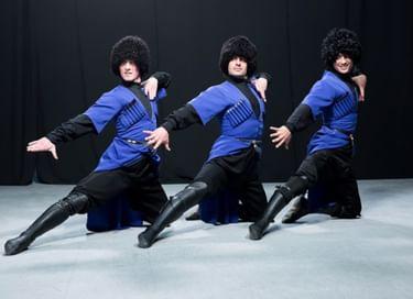 Выступление Государственного ансамбля народного танца «Ингушетия» в с. Галашки