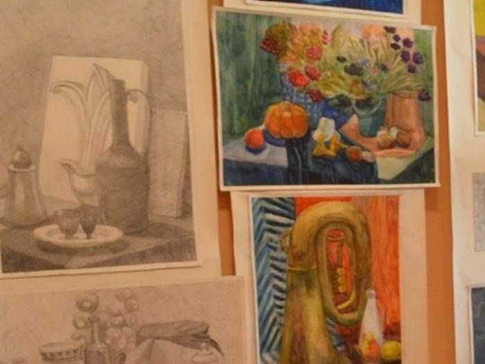 Открытие выставки детских работ «Пленэр–2017»