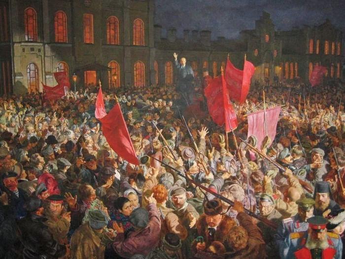 Книжная выставка «Сто лет революции»