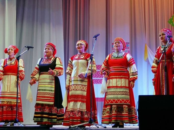 Зональные смотры конкурса «Поет село родное»