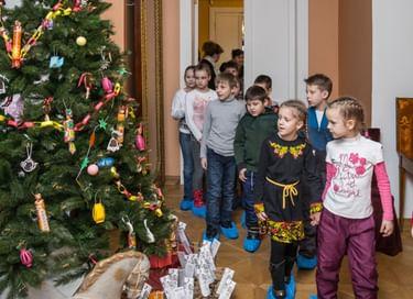 Интерактивная программа «Зимние праздники»