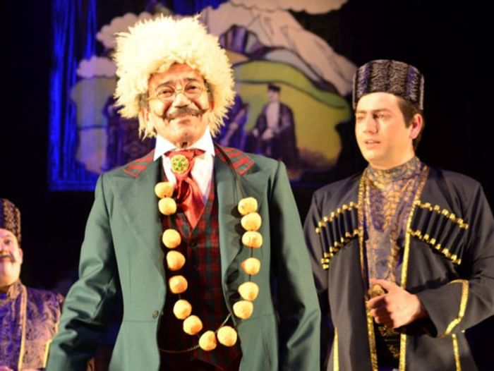 Спектакль «Мусье Жодан, ученый ботаник, и дервиш Масталишах, знаменитый колдун»