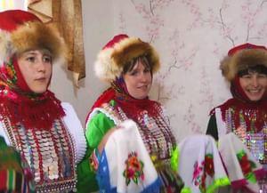 Свадебный обряд луговых (се́рнурских) мари