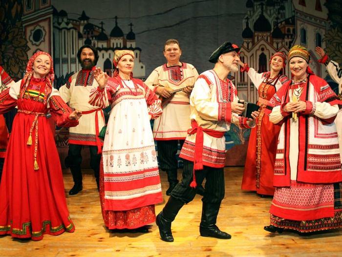 Ночь искусств в театре «Русская песня»