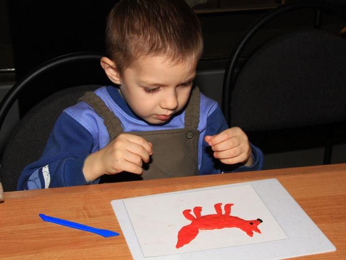 Занятия для детей «Звери Самарского края»
