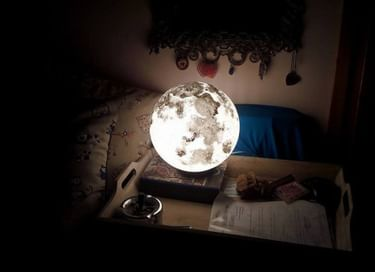 Мастер-класс по созданию светильника-ночника «Луна»