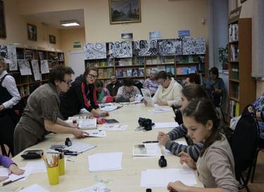 Ночь искусств в Истринской библиотеке им. А. П. Чехова