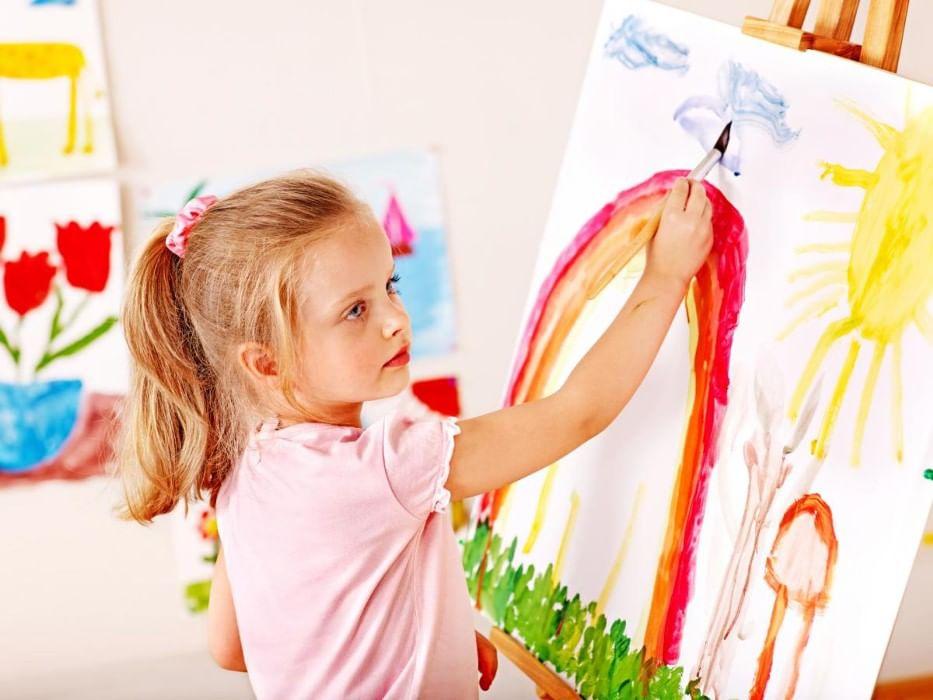 Картинки которые нарисовали дети 8 лет