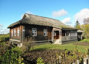 Дом-музей семьи Гагариных в селе Клушино