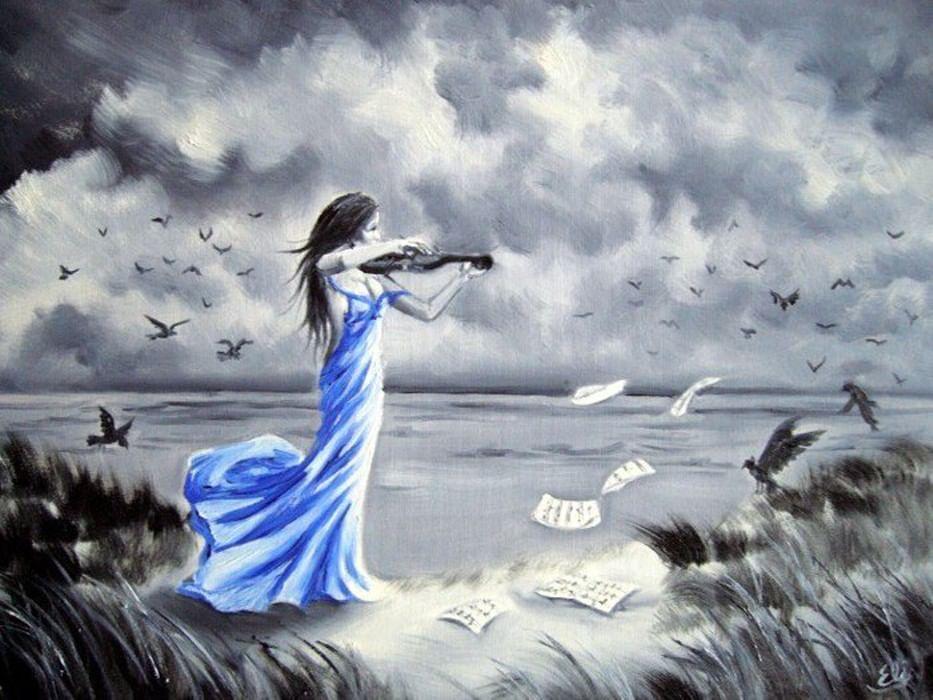 красивые картинки для души нарисовать вязания крючком