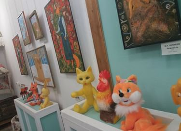 Выставка «Лисичкин дом»