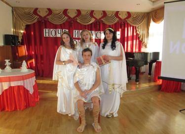 Ночь искусств «С верою в Россию!»