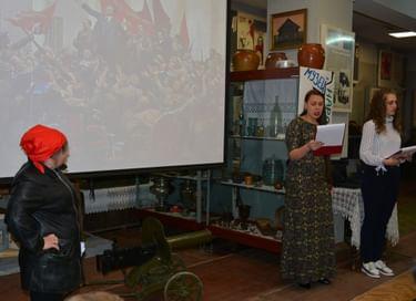 Ночь искусств в краеведческом музее г. Богданович