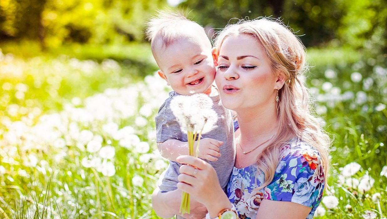 Мама с ребенком в картинках, мишками прикольные нарисованные
