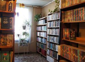 Библиотека с. Большие Варанды