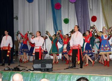 Ночь искусств в РДК д. Березовка