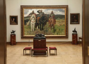 Виртуальная экскурсия «Прогулки по Третьяковской галерее»
