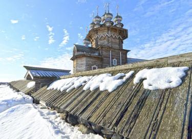 Программа «Путешествие в Заонежье зимой с посещением острова Кижи» (из с. Великая Губа)