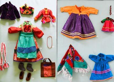 Выставка «Куклина одежда»