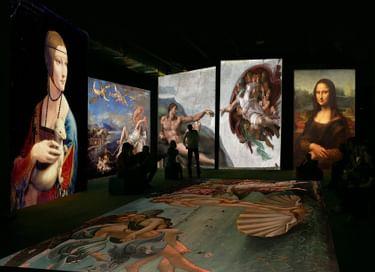Мультимедийный проект «Оживающие полотна: Ренессанс. Гении Эпохи»