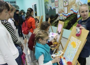 Ночь искусств в детской школе искусств с. Успенское