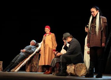 Спектакль «Дедушки + бабушки»
