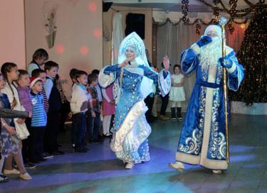 Новогоднее представление в театре кукол «Огниво»