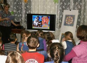 Детская библиотека с. Малая Салаирка