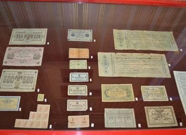 Выставка «Это вам не мелочь. История банкнот России и СССР»
