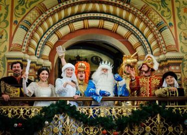 Новогоднее представление «Приключения Василисы и волшебного календаря»