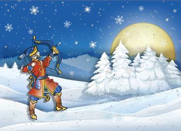 Спектакль «Как Иван-стрелок под Новый год царя перехитрил»