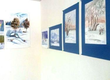 Открытие выставки «Новый год, как сказка»