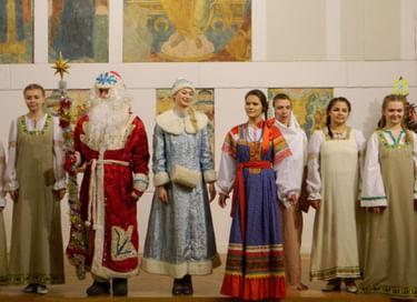 Рождественская елка в Музее имени Андрея Рублева