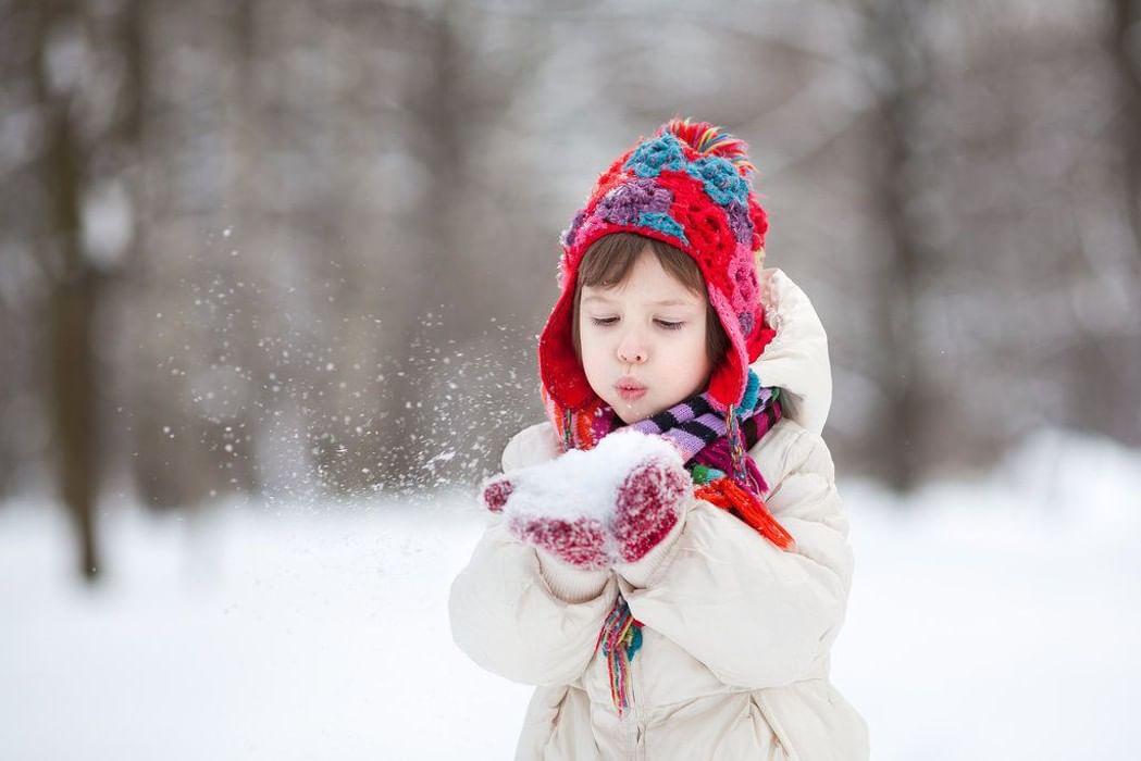 Картинки дети зимой красивые