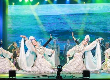 Концертная программа ансамбля «Агидель» в п. Менделеево