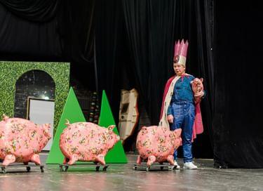 Спектакль «Роза и Соловей»