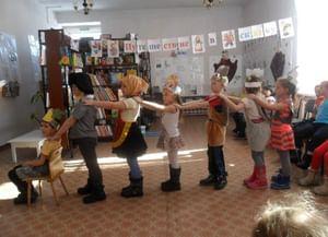 Детская библиотека п. Арлюк