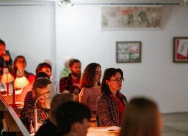 Выставка графики «Ленин и дети»