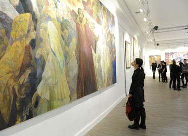 Выставка произведений Георгия Шишкина «Русские сны»