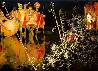 Выставка «История России в лаковой миниатюре: XX век»