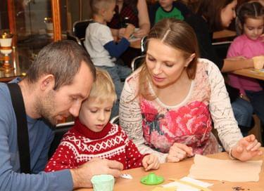 Семейная программа «Мастерская новогодней игрушки»