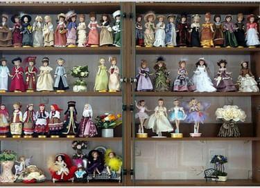 Открытие выставки «Путешествие в мир кукол»